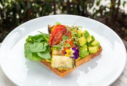 Sándwich Tartina de Vegetales Prrillados