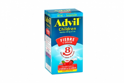 Advil Children 100 mg / 5 mL Caja Con Frasco Con 60 mL – Sabor