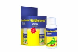 Gamabenceno Shampoo 1% Caja Con Frasco Con 60 mL