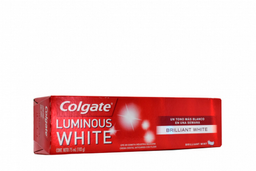 Crema Dental Colgate Luminous White Caja Con Tubo Con 75 mL