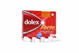 Dolex Forte 500  / 65 mg Caja Con 8 Tabletas