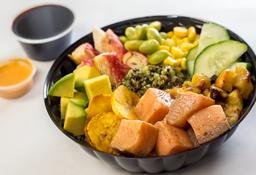 Quinoa Salmon Bowl