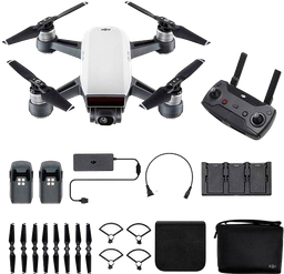 Dron Spark DJI - Fly More Combo