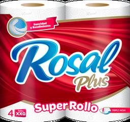 Papel Higienico Xxg  X 4 - Rosal Paquete 4 Und