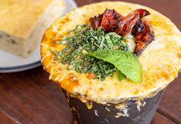 Sopa de Lasagna de carne + Bebida