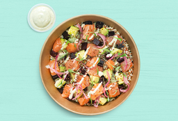 Combo perfecto: Bowl salmon Crudo + refresco