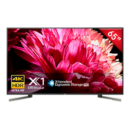 """Televisor Sony Xbr-65X957g 4k Hdr 65"""" Android Tv Triluminos"""