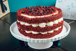 Torta Red Velvet 1/8 Lb 4 Porciones
