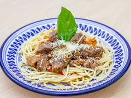 Espagueti porción