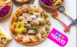 Sushi +  Postre gratis