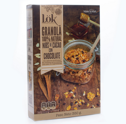 Granola Nibs de Cacao con Chocolate