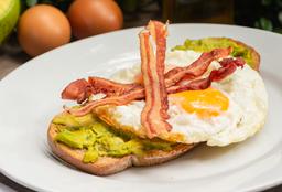 Tartine Aguacate y Huevo