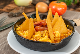 Huevos Migas de Tian