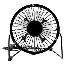 Ventilador Sanhuai HX - 1 - Negro