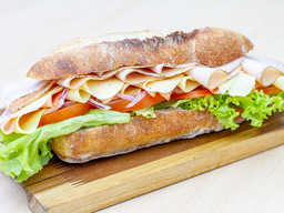 Sándwich 4 ingredientes