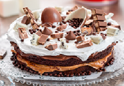 Torta Chocolate Kinder