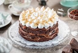 Torta Chocolate con Merengue Italiano