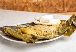 Tamal de Pollo y Cerdo