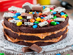 Torta Chocolate M&M 8 Porciones
