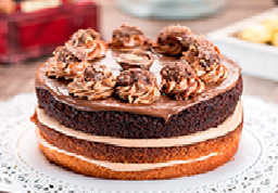 Torta de Chocolate Nutella 8  Porciones
