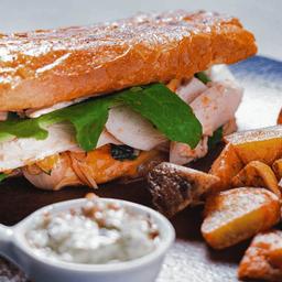 Sandwich de Pechuga de Pavo
