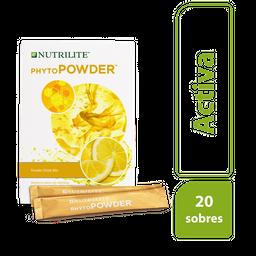 Nutrilite® Phytopowder Bebida Sabor Limón -  Sobres