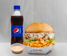 Combo la Central Burger