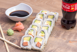 Combo Personal 12 Piezas de Sushi + CocaCola