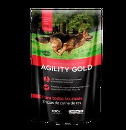 Agility Gold Trozos De Carne De Res X 100 Gr