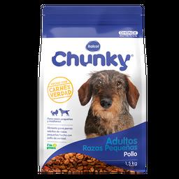 Chunky Adulto Razas Pequeñas 1.5 Kg