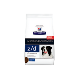 Hills skin food- sensitivities z/d original adulto 17,6 lb