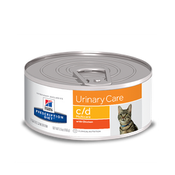 Hills urinary care c/d multicare chicken adulto 5,5oz