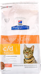 Hills urinary care c/d multicare chicken adulto 4 lb