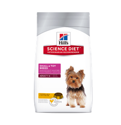 Hills Small & Toy Breed Chicken Meal R&B Adulto 4,5 Lb