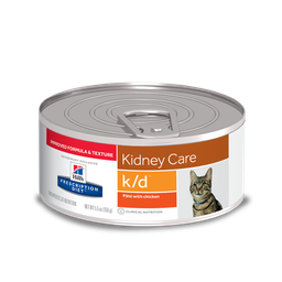 Hills kidney care k/d chicken adultos 5,5oz