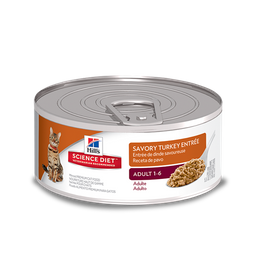 Hills savory turkey entrée adulto 5,5oz