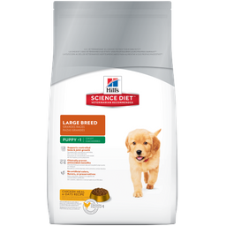 Hills science diet - large breed puppy 30 lb
