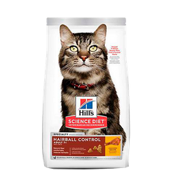 Hills Hairball Control Chicken Adulto 7+ 3,5 Lb