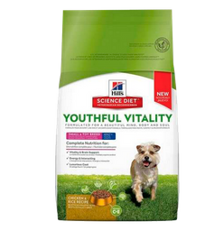 Hills perro youthful vitality adult 7+ small and toy 3.5 lb
