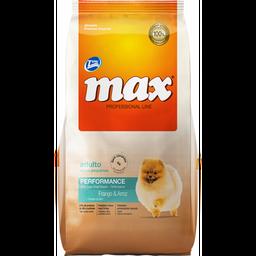 Max adulto razas pequeñas buffet pollo y vegetales 8 kg