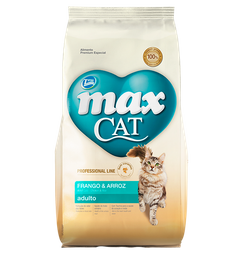 Max Cat Adulto Pollo Y Arroz 1 Kg