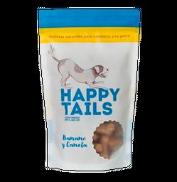 Galletas happy tails banano y canela 180gr