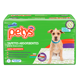 Tapetes absorbentes petys x 7 und