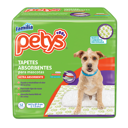 Tapetes Absorbentes Petys X 12 Und