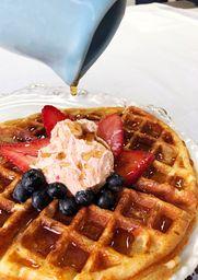 Waffle de Yuca