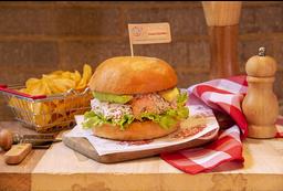 Sándwich Frutos del Mar + Papas