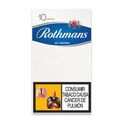 Cigarrillos Rothmans Blanco 10