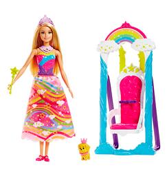 Barbie Trono Arcoiris