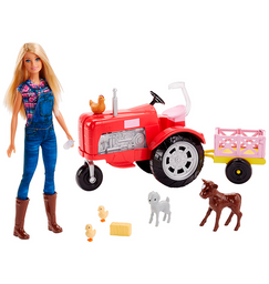 Barbie Con Granja