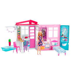 Barbie Casa Glam Muneca